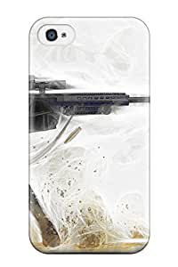 For Iphone 4/4s Protector Case Anime Sniper Girl Phone Cover
