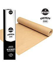 Hectors Providores Smokin' Bake Butchers Paper for Smoking. Food Grade Fish and Meat Paper Wrap. for Smoker, BBQ Grill, Oven and Microwave. Unbleached and Unwaxed Cooking Paper. Gourmet Foodies