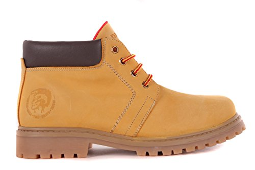 Diesel Damen Boots Stiefeletten Stiefel Camel