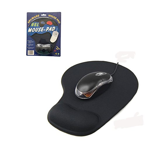 low-cost UBEI Wrist Protect Optical Trackball PC Thicken Mouse Pad