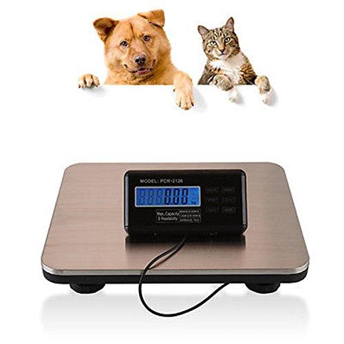 TFCFL Multi-Function Digital Pet Scale 660LBS Digital Pet Dog Puppy Cat Floor Bench Scale 300KG Vet Weigh