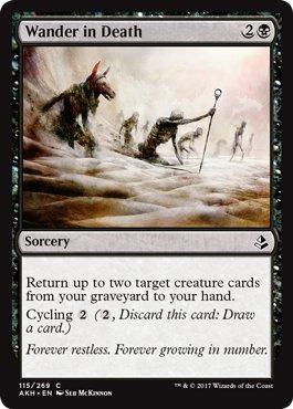 Wizards of the Coast Wander in Death - Amonkhet (Best Cards In Amonkhet)