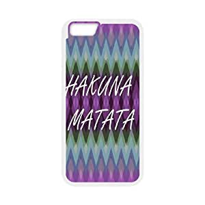 Best Quality [LILYALEX PHONE CASE] Hakuna Matata With Good Luck For Apple Iphone 6 Plus 5.5 inch screenCASE-2