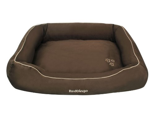 Red Dingo Pet Donut Bed, Large, Black