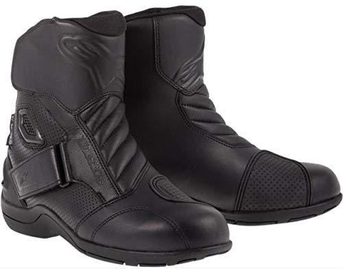 Alpinestars Gunner Waterproof Men's Street Motorcycle Boots (Black, EU Size 36)
