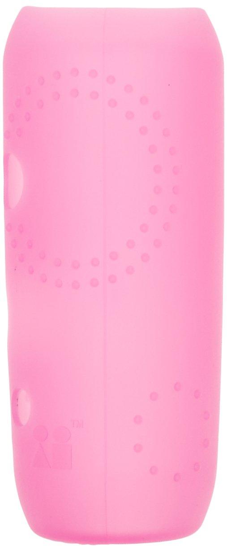 Silikids - 1124013 - Housse de Protection pour Biberon en Verre - Col Standard - Grande Contenance - Rose