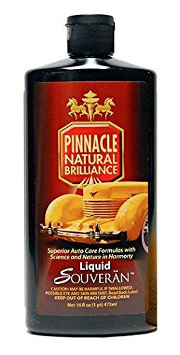 Pinnacle Natural Brilliance PIN-315 Liquid Souveran Car Wax, 16 fl. oz.