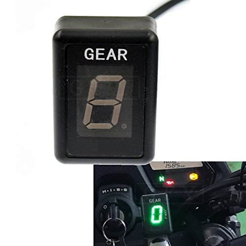 GFYSHIP Motorcycle LCD Electronics 1-6 Level Gear Indicator Digital Gear Meter For Yamaha Stryker 2011-2017 Stratoliner 2006 2007 2008 2009 2010 2011 2012 2013 2014 2015 -  GYF, GFY-GPXT-GPX-Y01-12