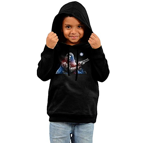 Toddler Geek Fantastic Destiny 100% Cotton Long Sleeve Hoodies Sweater Black US Size 3 Toddler (Ninja Gaiden 3 Xbox 360)