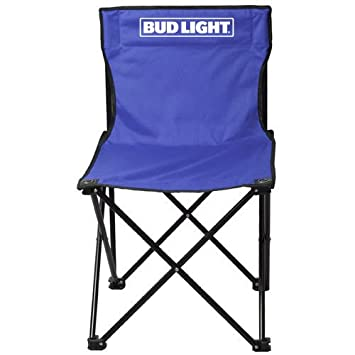 Delicieux Bud Light Collapsible Tailgate Chair With Carry Bag, Blue, One Size