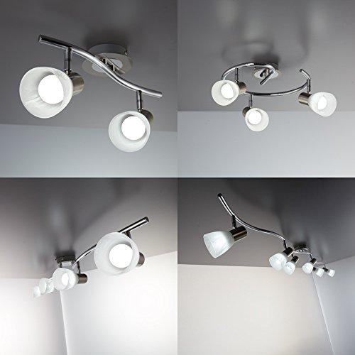 B K Licht Plafonnier Moderne Luminaire Plafond Spots Led 6 Spots