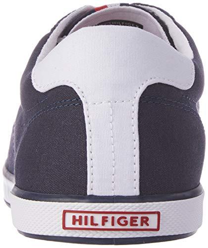 1d Hombre Negro H2285arlow Zapatillas Para Tommy Hilfiger midnight xFAzpqE