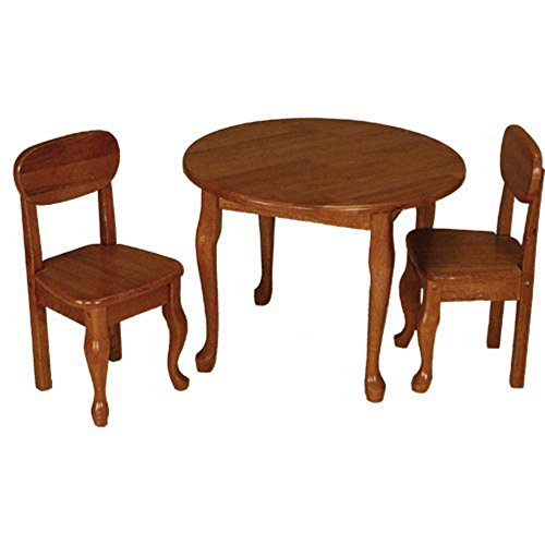 Gift Mark Queen Anne Round Table and Chair Set