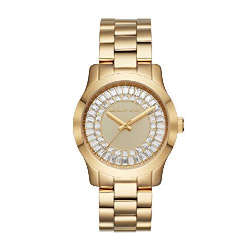 Michael Kors Women's Runway Gold Tone Stainless Steel Watch MK6532