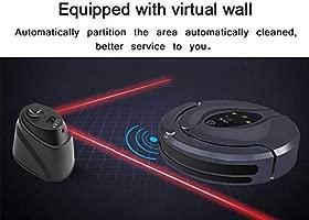 RUIXFRV Robot Aspirador, Control de Aplicaciones, Sensor ...