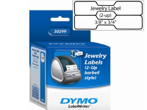 """Dymo Jewelry Labels - 0.47"""" x 2.13"""" - 1500 x Label for sale  Delivered anywhere in USA"""