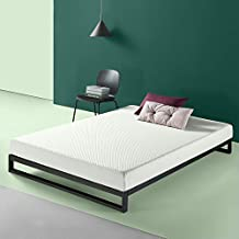 Zinus 6 inch Charcoal Memory Foam Mattress, Queen