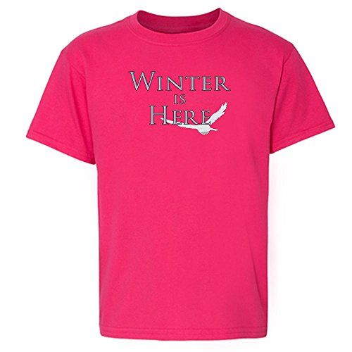 Price comparison product image Pop Threads Winter is Here Pink 2T Toddler Short Sleeve Kids T-Shirt Baby/Toddler/Little Kid