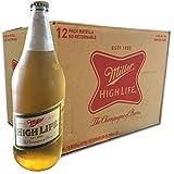 Cerveza Miller High Life 940 ml - Caja 12 Piezas