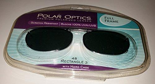 Polar Optics 48 Rec 3 Fits Full Frame Gray Lenses with Hard ()