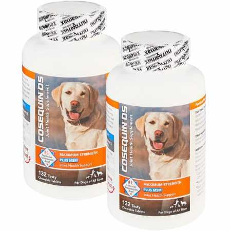Cosequin 2PACK DS Plus MSM Maximum Strength Chewable Tablets (264 Count)