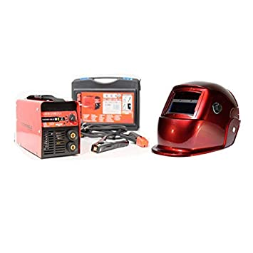 ce96bb096626fb Poste à souder 180A TECNOWELD + Cagoule LCD 9 13 Soudage Acier Inox Fonte  diam