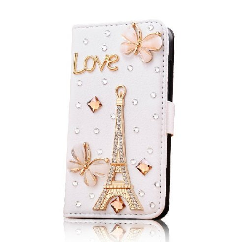 Hot New Crystal Girl Women Apple Iphone5 Case 5s 5g Case Iphone 5 Case Butterfly Effiel Tower Love Letter Case