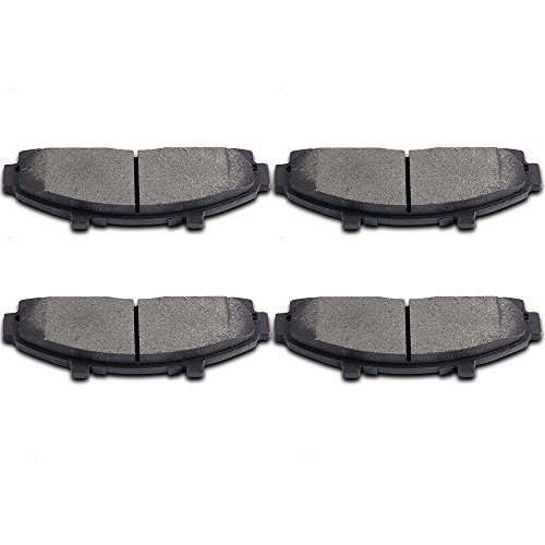 Brake Pads,ECCPP 4pcs Front Ceramic Disc Brake Pads Kits for Ford Explorer,Ford Ranger,Mazda B2300,Mazda B2500,Mazda B3000,Mazda B4000,Mercury Mountaineer (Brake B3000 Pad)