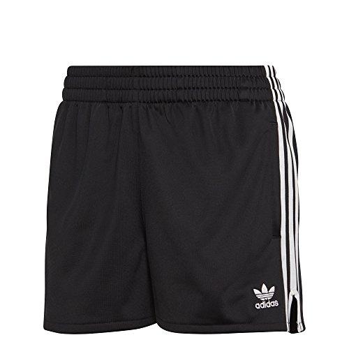 Adidas Womens Shorts - adidas Originals Women's 3 Stripes Short, Black, S