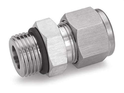 Ham-Let Stainless Steel 316 Let-Lok Compression Fitting, Adapter, 5/16-24