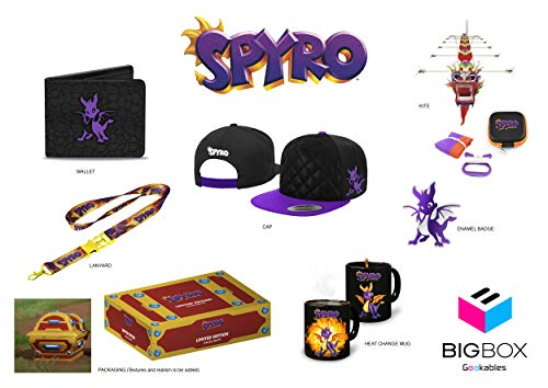 Exquisite Gaming Spyro Big Box - Nintendo Wii; GameCube