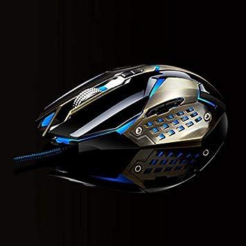 Black Readygo Temperature Ergonomically Designed. Length: 1.5m measurem T03 USB 3200DPI Four-Speed Adjustable Custom Macro Light Wired Optical E-Sport Gaming Mouse barometric Pressure Guides
