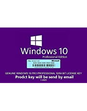 Windows 10 Pro OEM | Product Key and download link by email or amazon message | Fast delivery | Manual by MATZ ®