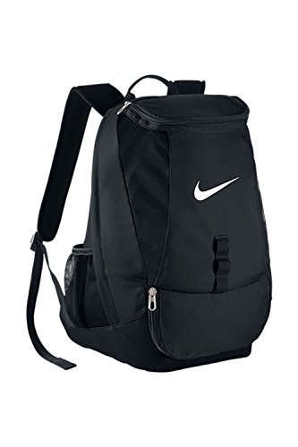 Nike Club Team Swoosh Backpack Black/White Size One Size - Enclosed Track