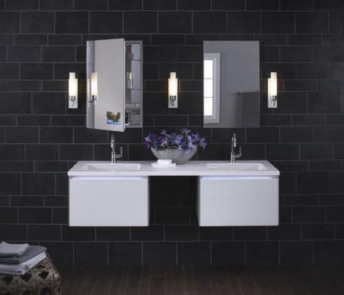 KOHLER K-2214-0 Ladena Undercounter Bathroom Sink, White