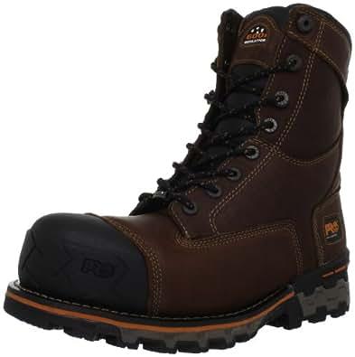 Timberland PRO Men's Boondock Waterproof Work Boot,Brown,7 M US