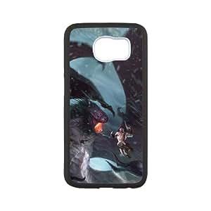 God Of War ascensión 12Samsung Galaxy S6teléfono celular caso negro teléfono móvil funda EEECBCAAF15874