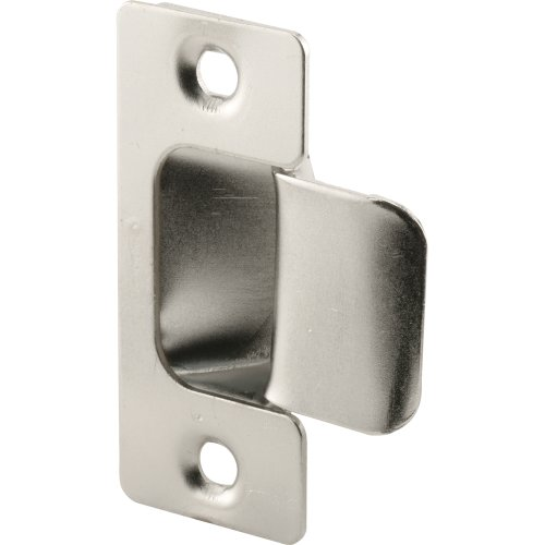 Prime Line Products U 10278 Adjustable Door Strike, Chrome Plated, 2 Piece
