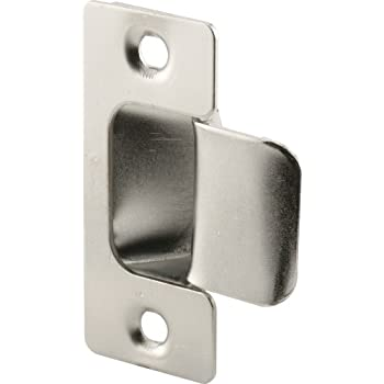 Charmant Defender Security U 10278 Adjustable Door Strike, Chrome Plated, 2 Piece