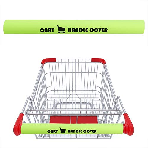 2PCS Shopping Cart Handle Covers for Germs Shopping Cart Handle Cover Safe for Adults Babies and The Environment / 2PCS Shopping Cart Handle Covers for Germs Shopping Cart Handle Cover Safe for Adults Babies and The Environment