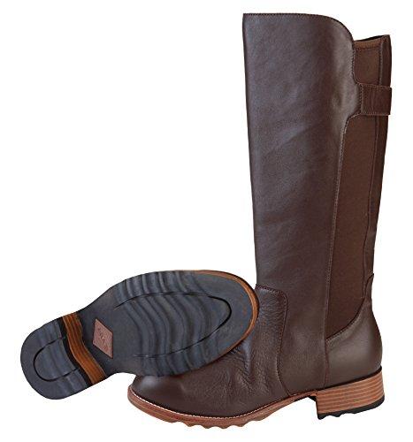 Muck Stövlar Kvinna Como Läder Boot Brown