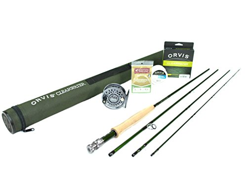 Orvis Clearwater 912-4 Fly Rod Outfit, with Battenkill Disc Fly Reel : 9'0