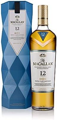 The Macallan Triple Cask 12 años Single Malt Scotch Whisky 40% Gifting – Estuche regalo - 700 ml: Amazon.es: Alimentación y bebidas