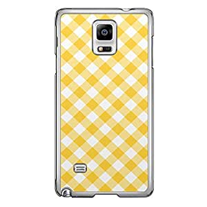 Loud Universe Samsung Galaxy Note 4 01 Transparent Edge Case - White/Yellow