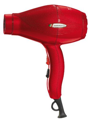 Gamma Piu Ion Ceramic S - Secador de pelo, color rojo: Amazon.es: Salud y cuidado personal