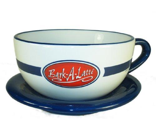 Bark-a-Latte Dog Bowl