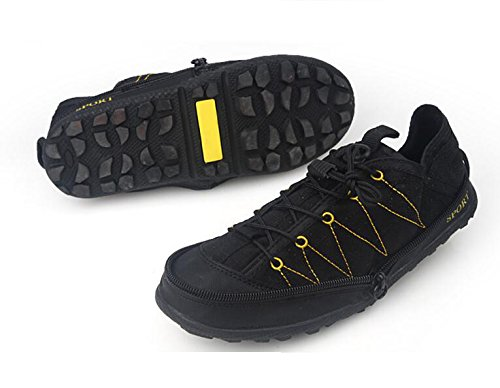 Soft Ultra Shoes Travel Breathable Leisure Compression Sums Black Sneakers Foldable Lesisure Shoes Mens qEBnStzf