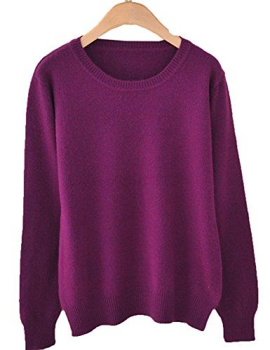 Purple Classic Crew Sweatshirt - 3
