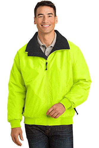 Port Authority Enhanced Visibility Challenger Jacket. J754S Safety Yellow/