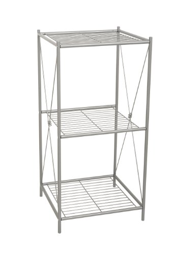 ross Style Floor Stand, Satin Nickel ()